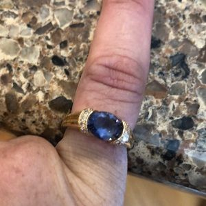 Beautiful Tanzanite 14kt Ring Size 6